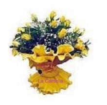 ramo-rosas-amarillas-floristerias-vigo