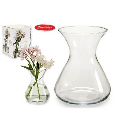 Jarr n cristal 22x 15 cm para ramos de flores for Jarron cristal