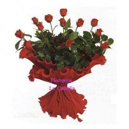 Ramo-12-rosas-rojas