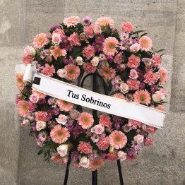 corona Rosa floristería Vigo