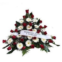 Centro Defunción de rosas y gerberas Vigo