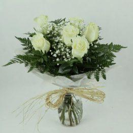 Ramo-de-6-rosas-blancas